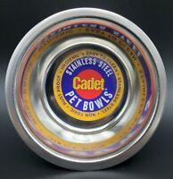 Cadet Stainless Steel Pet Bowl 1 Pint New