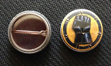 "Warhammer 40k Imperial Fists - 1"" pin button - Space Marines - Buy 2 Get 1 Free"