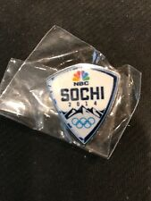 Nbc Official Sochi Crest Logo Pin From The 2014 Winter Olympics-