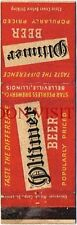 1940s Star Peerless Oltimer Beer Belleville Illinois matchcover Tavern Trove