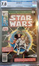 Star Wars 1 Marvel Comics 1977 CGC 7.0 Howard Chaykin White Pages