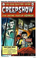 Vintage CREEPSHOW FILM MOVIE METAL TIN SIGN POSTER WALL PLAQUE