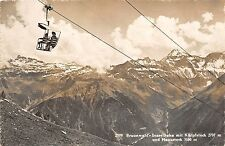 B44404 Braunwald Sesselbahn cable train funiculaire  switzerland