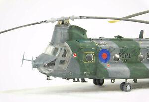 1/72 Italeri - Boeing-Vertol CH-47C Chinook - built & painted