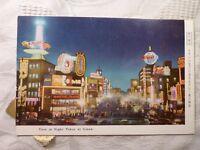 AK alte Ansichtskarte Tokyo Japan in Nigth at Ginza bei Nacht ca. 1964