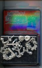 Heavy Gear Blitz Southern Jager Paratrooper two Pack MINT