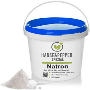 5kg Reines Natron Pulver Natriumhydrogencarbonat E 500 (ii) Backsoda - Pro Serie