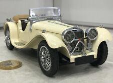 Franklin/Danbury mint 1:24 1938 Jaguar ss100 classic vintage model rare 18