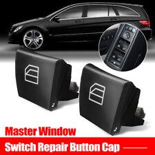 2x Window Switch Repair Button Cap For Mercedes ML GL R Class W164 X164 W251