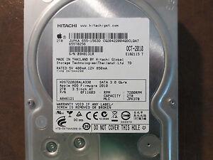 Hitachi HDS722020ALA330 PN:0F11603 MLC:JPK37B Apple#655-1563D 2.0TB Sata HDD