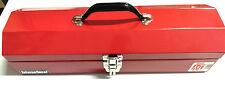 International 19-Inch Portable Steel Tool Box - RED
