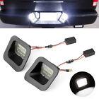For 03-18 Dodge Ram 1500 2500 3500 6k White Led License Plate Lights Error Free