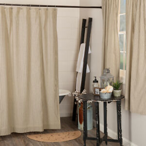 Black Striped Fabric Shower Curtains For Sale Ebay