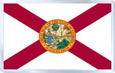 FLORIDA USA FLAG FRIDGE MAGNET SOUVENIR IMAN NEVERA