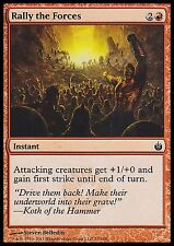 Rally the Forces X4 EX/NM Mirrodin Besieged MTG Magic Cards Red Common