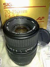 Sigma 70-210mm f/4-5.6 AF Objektiv für Pentax SIGMA ZOOM UC-II AF ZOOM LENS