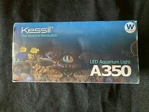 KESSIL A350W WIDE ANGLE LED AQUARIUM LIGHT - TUNA BLUE   48VDC 90w