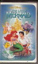RARE! Disney The Little Mermaid (VHS, 1989, Black Diamond Edition) Banned Cover