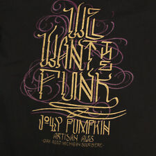 JOLLY PUMPKINS Artisan Ales Oak Aged Michiagn V-Neck Women's T-Shirt Tee size XL