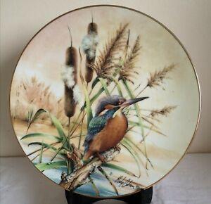 Hamilton Colourful Bird of Britain's Heritage Collectors Plate Kingfisher