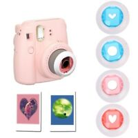 4Pcs Color Close Up Lens Filter Set For Fujifilm Mini Instax 7S/8/8+ Film Camera