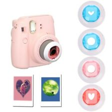 4Pcs Color Close Up Lens Filter Set For Fujifilm Mini Instax 7S/8/8+ Film Camera