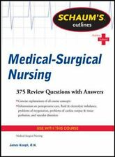 Schaum's Outline of Medical-Surgical Nursing Schaum's Outlines