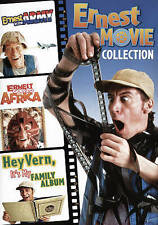 Ernest in the Army / Ernest Goes To Africa/Hey Vern,It's My Family Album DVD NEW