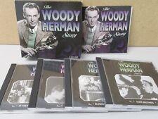 The Woody Herman Story 4-CD Proper Jazz BOX SET Best of Jazz Big Band Herd *READ