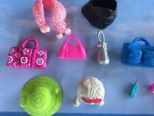 POLLY POCKET PURSES HANDBAGS CELL PHONES HATS SCARVES FOR POLLY DOLLS