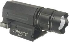 COMUNITE CM07 Tactical LED Flashlight Gun Pistol Light Zoomable 600LM Rail Mount