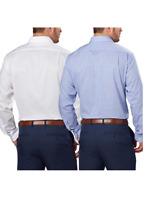 Tommy Hilfiger Men's Regular Fit Spread Collar Long Sleeve Dress Shirt SZ L