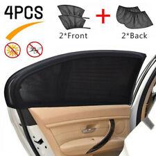 4PCS Universal Car Window Sun Shade Curtain (Fits all Cars) Front & Rear