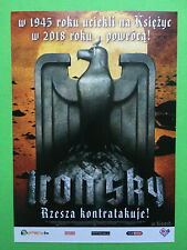►►POLISH FLYER Iron Sky Julia Dietze Peta Sergeant Stephanie Paul MINI POSTER