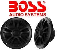 """BOSS Audio 6.5"""" Dual Cone 180 Watt Marine Full Range Speaker Boat Watercraft NEW"""