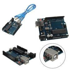 UNO R3 Rev3 328 Development Board Pad ATMEGA328P w/ USB Cable For Arduino