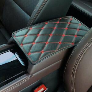 Universal Leather Car Armrest Pad Mat Box Center Console Auto Cushion Trim Cover