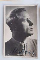 29021 Autografo Foto Ak Viktor Staal Ross Editore No. 3569 1935 Film Autografata