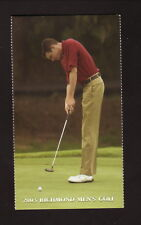 Richmond Spiders--2003 Golf Pocket Schedule--Farm Bureau Insurance