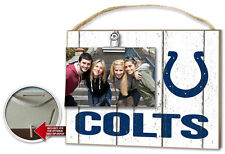 Indianapolis Colts Clip It Weathered Logo Photo Frame [NEW] NFL Picture Plaque
