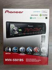 Pioneer MVH-S501BS Multimedia Receiver Head unit Black 1-DIn FREE SHIPPING
