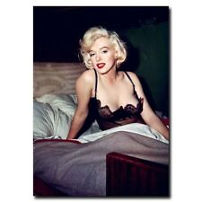 "Marilyn Monroe Sexy Woman 12""x8"" Movie Star Silk Poster Wall Decoration"