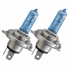 PHILIPS BlueVision Ultra H4 Upgrade AUTO LAMPADINA LUCE ANTERIORE-Twin Pack
