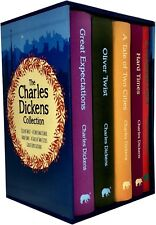 The Charles Dickens Collection 5 Book Set Deluxe Hardback a Christmas Carol HA