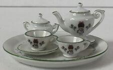 Rare Vintage Joan Walsh Anglund Miniature Tea Set Xint Condition 1958 - 1977