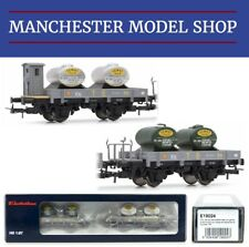 Electrotren E19024 HO 1:87 RENFE R.N. set of 2 flat wagons Era III NEW BOXED
