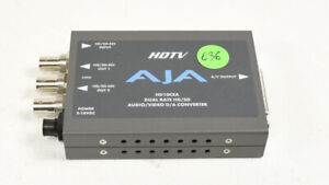 AJA HD10CEA Dual Rate HD/SD Audio/Video D/A Converter - Missing PS