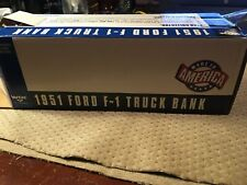 Ertl 1951 FORD F-1 Truck Bank WIX Filters