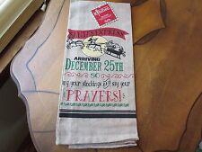 Santa's Express, Holiday Kitchen Tea Towel