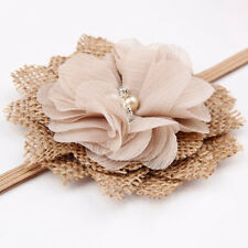 Kids Girls Infant Charming Lovely Flower Headband Hair Band Accessories Headwear